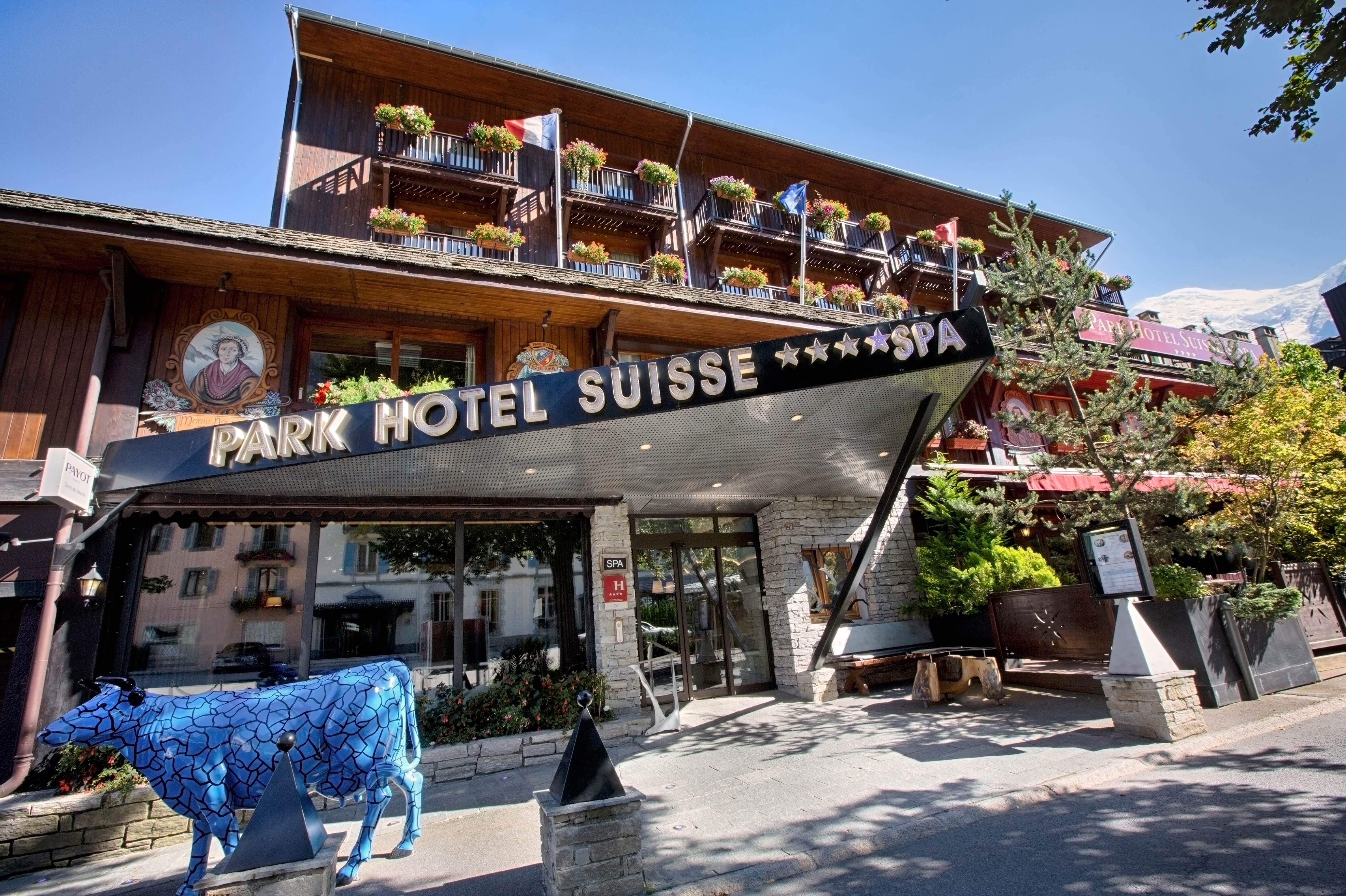 Park h tel suisse spa 4 star hotel in chamonix for Hotels chamonix